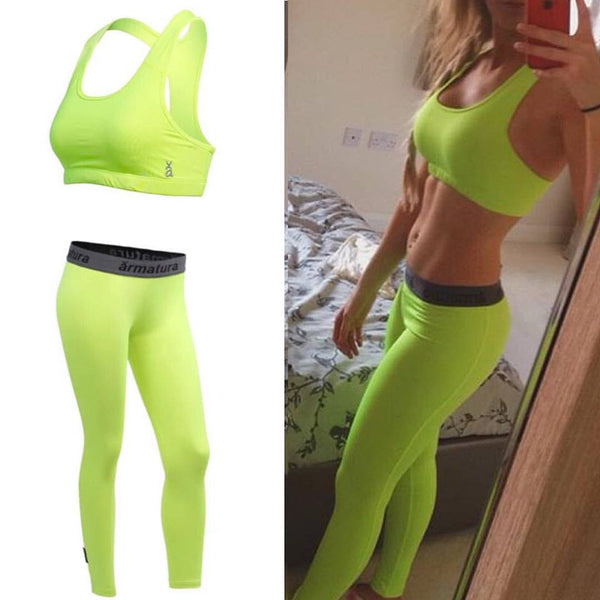 Compression Leggings Neon