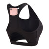 Tech Pocket Sports Bra in Black