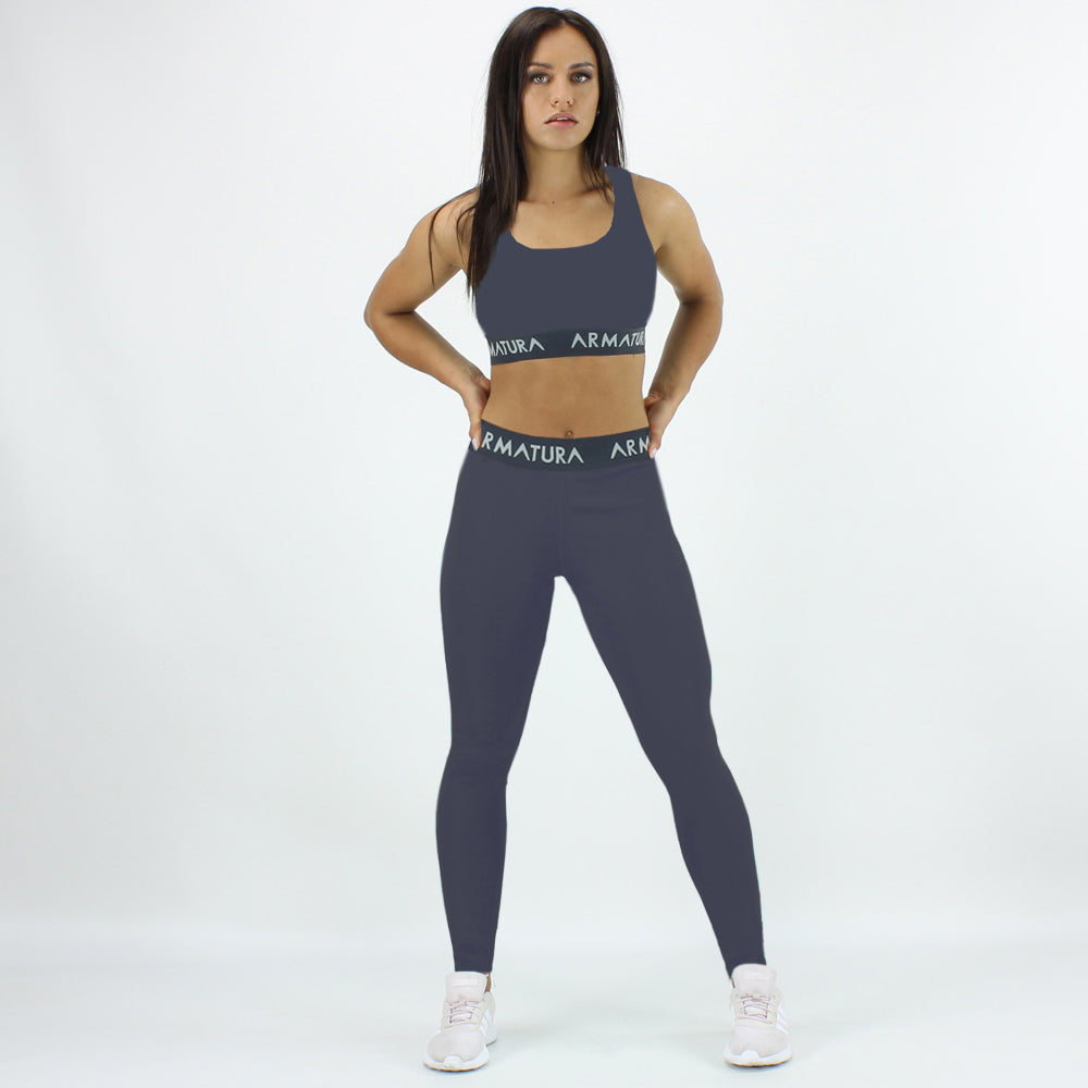 960834743ea47 Sports Bra   Legging Set in Grey ...