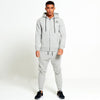 Mens Core Tapered Tracksuit in Light Grey