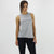 Women's Muscle Tank in Grey Fleck