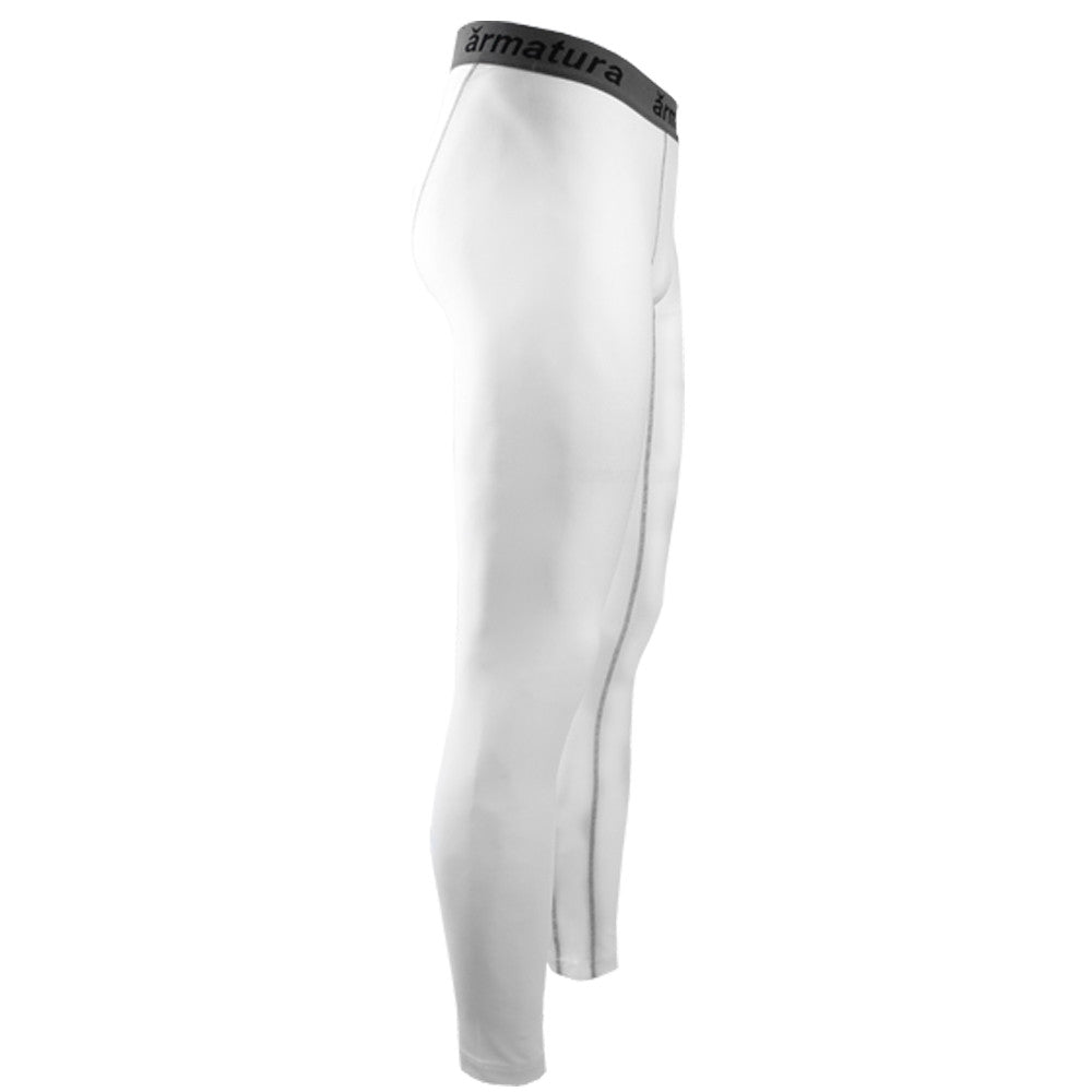 c95e1f4b816c ... Mens Basic Compression Wear Leggings White