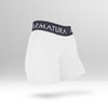 Luxe Gym Shorts in White