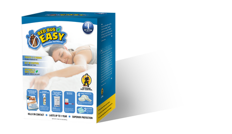 Bed Bug Easy Professional Treatment Kit, by Veterans Pest Control, Fast and Sure Kill with Extended Residual Protection, Natural & Non-Toxic, Child & Pet Friendly, Perfect for Do-It-Yourselfers