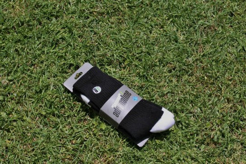 Adrenaline Lacrosse Socks - Black & White