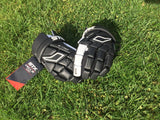 STX Cell 3 Men's Lacrosse Field Gloves - Black and White