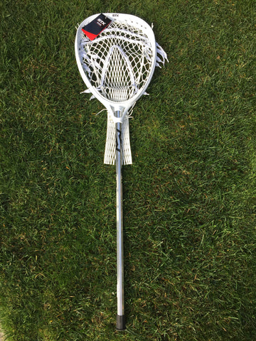 STX Eclipse Lacrosse Goalie Stick - White