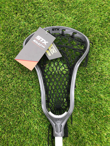 STX Exult 400 with Crux Mesh Pro - Intermediate Women's Lacrosse Stick