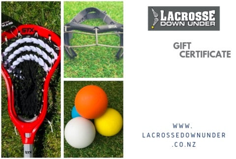 Lacrosse Down Under Gift Card