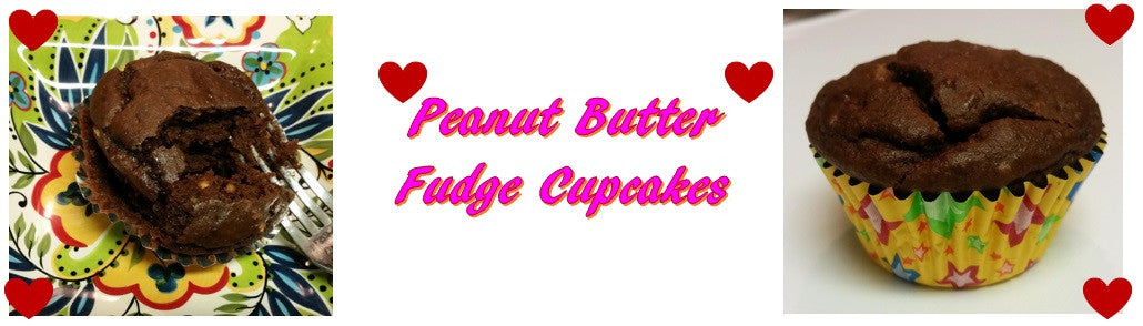 *SOMETHING SWEET* PEANUT BUTTER FUDGE CUPCAKES
