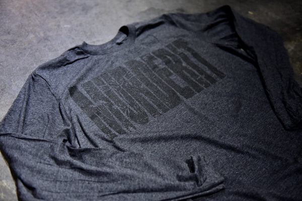 MURDERIT CHARCOAL Long Sleeve
