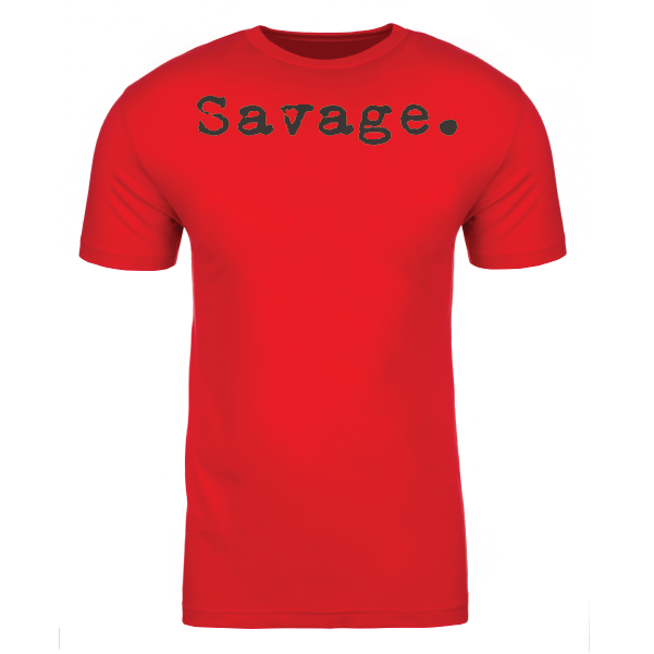 SAVAGE.  RED