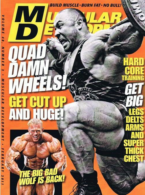Muscular Development Cover 8x10 Photograph