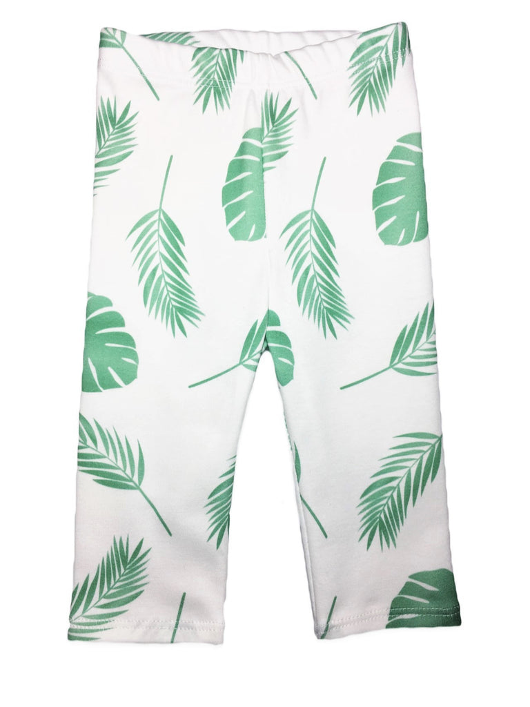 Organic Cotton Leggings -  Palm Beach
