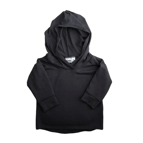 Bamboo Hoodie - Night Sky (Black) - KEWE Clothing