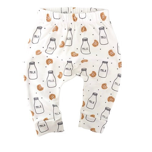 Milk & Cookie Print Leggings 2.0 - KEWE Clothing