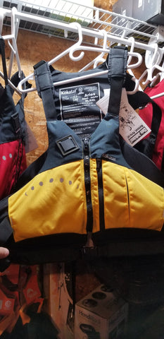 Paddling Specific PFD - Kokatat Aries Yellow