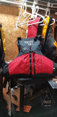Paddling Specific PFD - Kokatat Aries Red