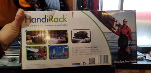 Vehicle Inflatable Roof Rack - HandiRack