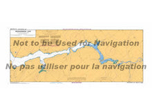 Load image into Gallery viewer, CHS Marine Chart 4142 Evandale to Ross Island