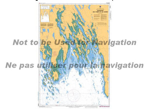 CHS Marine Chart 4244 Wedgeport and Vicinity