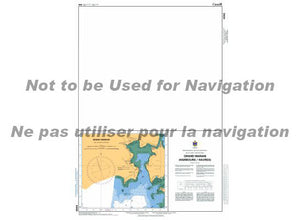 CHS Marine Chart 4342 Grand Manan Harbours