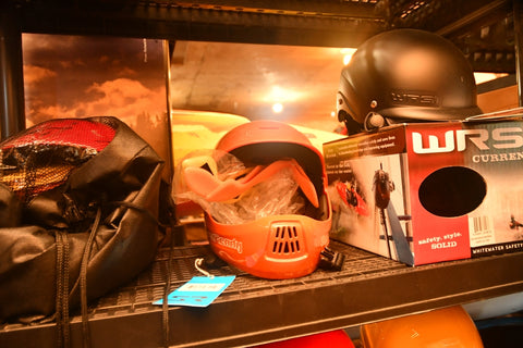 Shread Ready Full Face Helmet (One size fits most) Orange