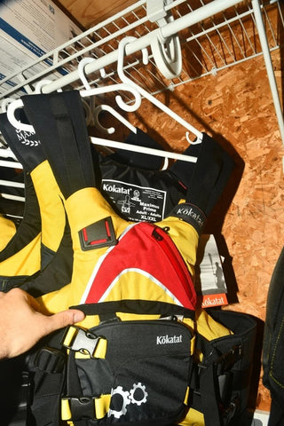 Kokatat Maximus Prime PFD XL/XXl Yellow