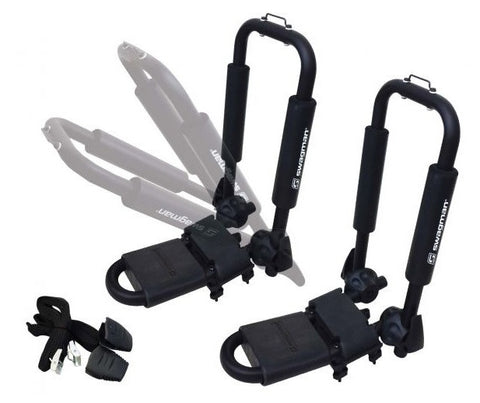 Kayak Car Rack - Swagman Contour folding J Bars