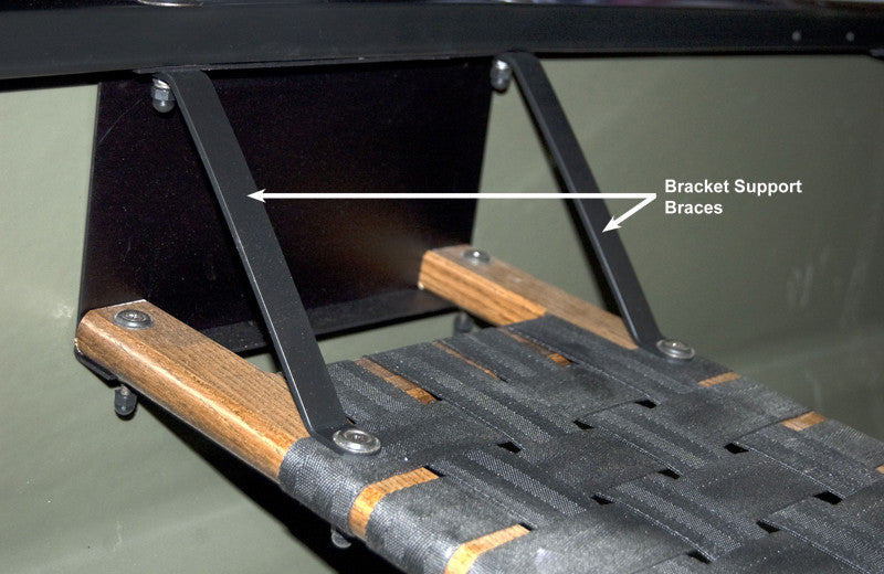 Web Seat Hardware - Old Town Bracket Support Braces