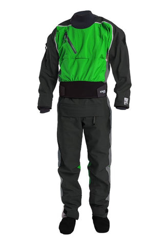 Kokatat Gore-Tex Icon Rear Entry Dry Suit with Relief Zipper and socks - Men