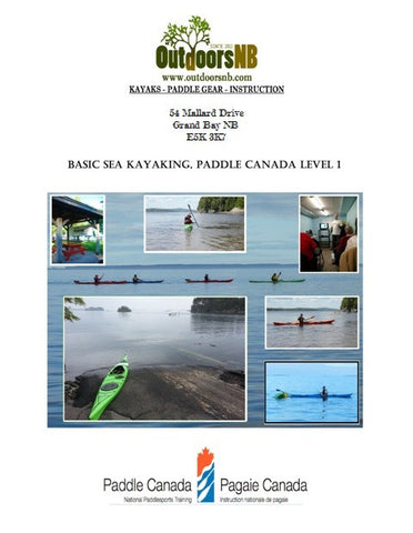 Basic Sea Kayaking - Paddle Canada Level 1