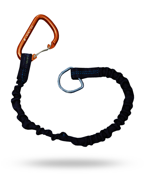 Level Six Shock Leash With Paddle Carabiner