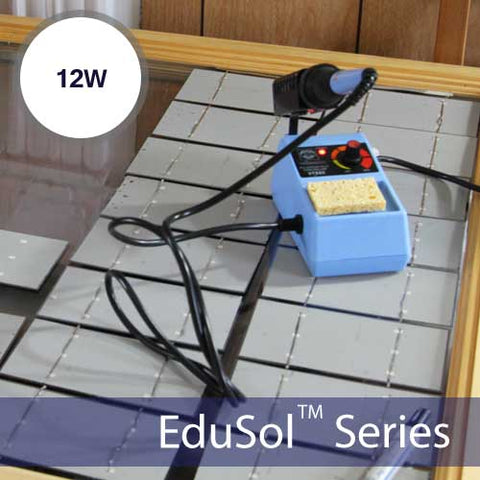 Build Your Own 12W Solar Panel Kit