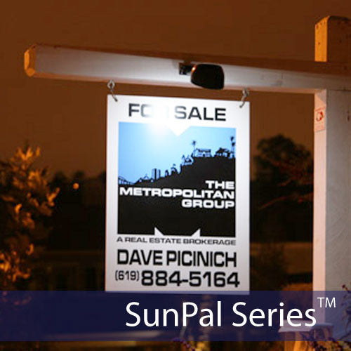 What Is Light Industrial Real Estate: 2LED Solar Real Estate Sign Light