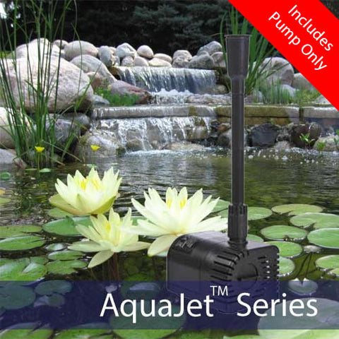 AquaJet Pro Solar Fountain Submersible Pump 12-24V