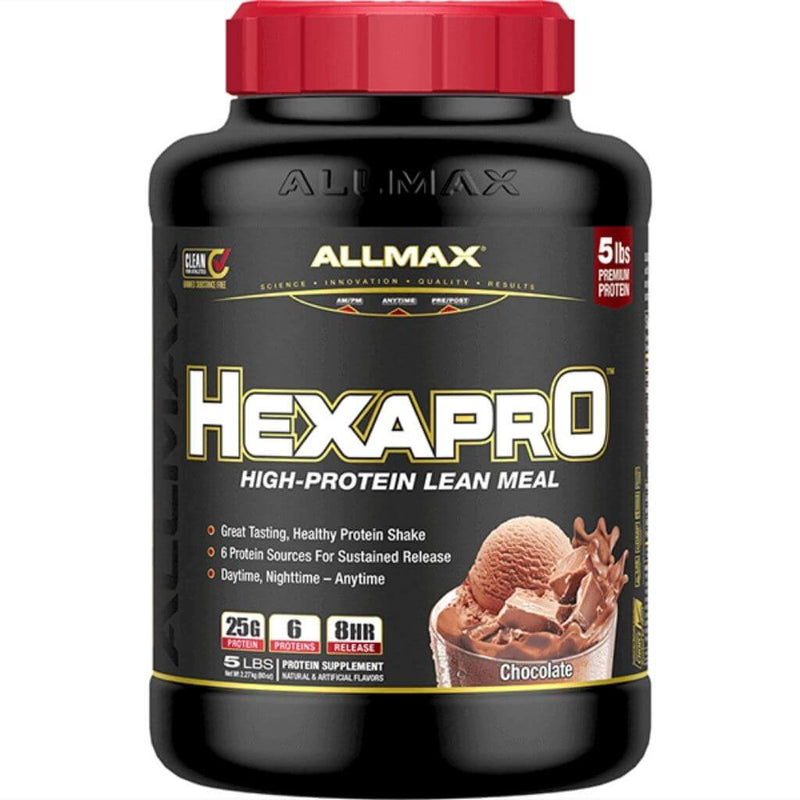 Allmax HEXAPRO (Blend of 6 Proteins) NEW SIZE, 5lb