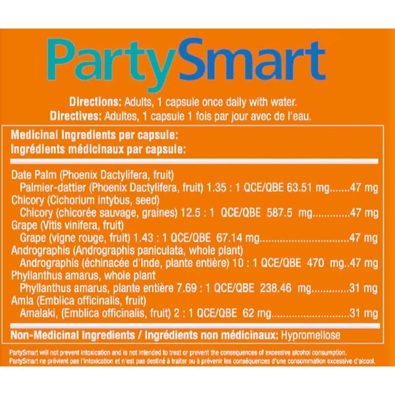 Himalaya PARTY SMART, 1 Cap (Single Serving)