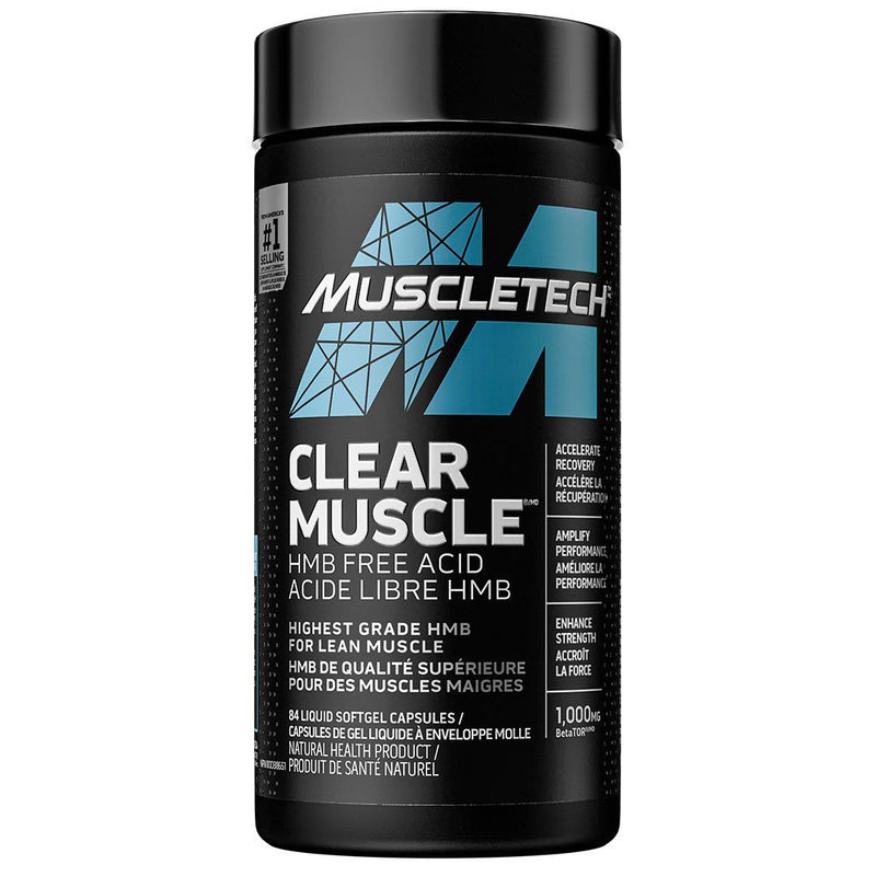 MuscleTech CLEAR MUSCLE, 84 Softgels