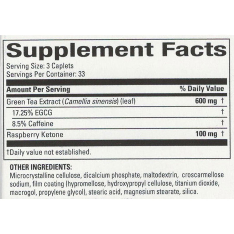 CLEARANCE Nature's Science Raspberry Ketone, 100 Caps