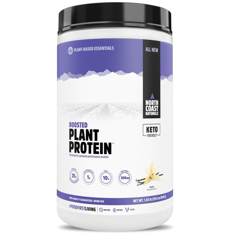 North Coast Naturals BOOSTED PLANT PROTEIN, 840g