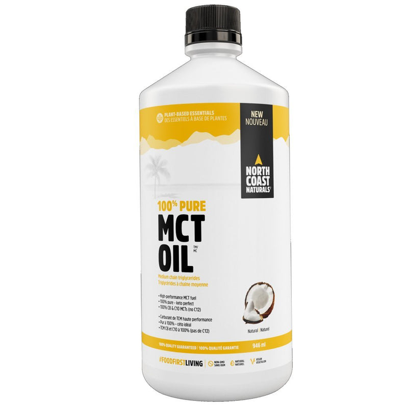 North Coast Naturals MCT OIL, 946ml