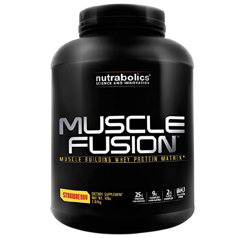 CLEARANCE Nutrabolics MUSCLE FUSION (Blend of 5 Proteins), 4lb