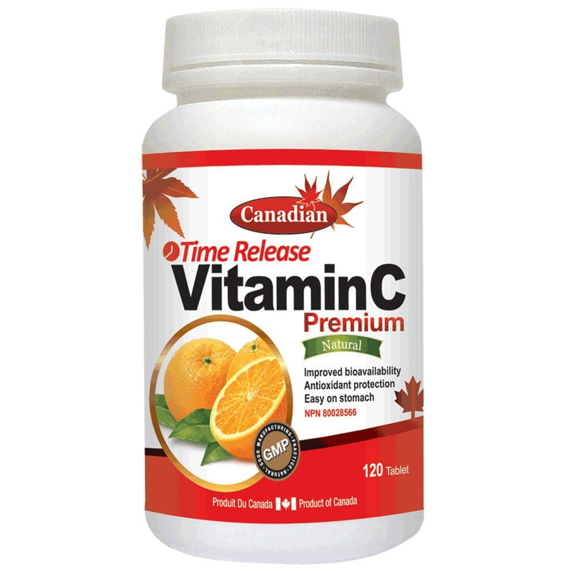 Nutridom VITAMIN C TIME RELEASE, 1000mg x 120 Tabs