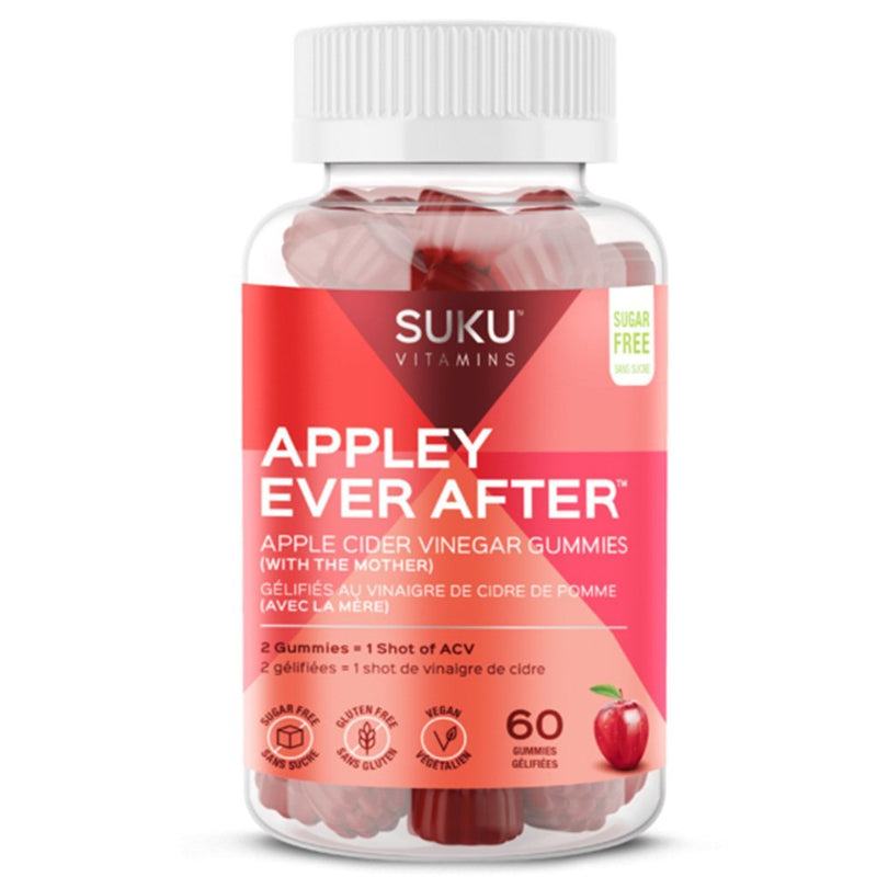 Suku Vitamins, APPLEY EVER AFTER GUMMIES, 60 Gummies