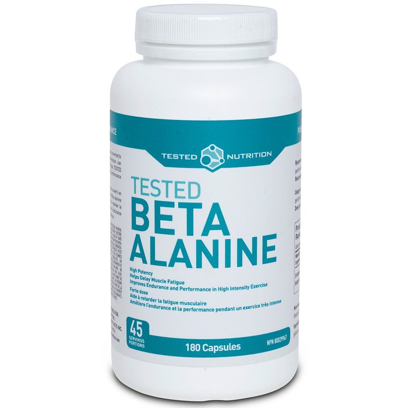 Tested Nutrition BETA-ALANINE, 180 Caps