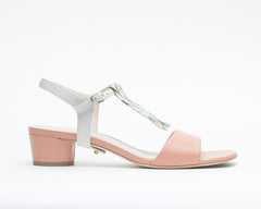 Blush Sandal + Billie in Cream