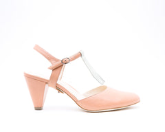 Blush Mule + Billie in Blush/Cream