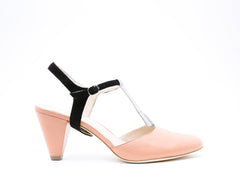 Blush Mule + Billie in Black