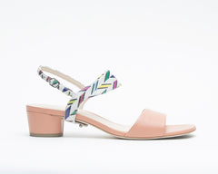 Blush Sandal + Elsie in Carnaval